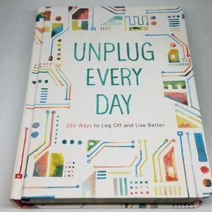 Chronicle Books Unplug Every Day Journal Book